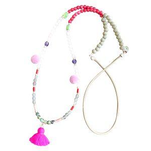 Kette lang Perlen divers